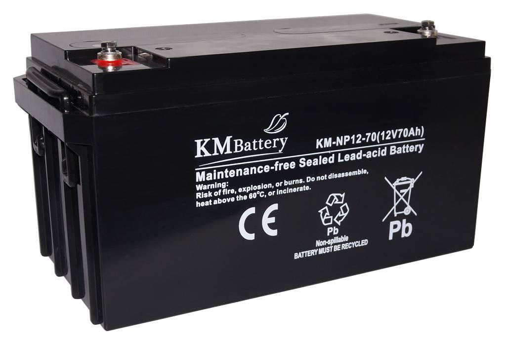 Akumulator żelowy KM Battery NP 70 Ah 12V AGM