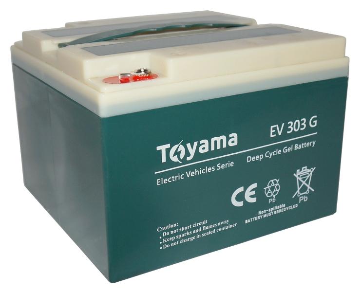 Modish Akumulator żelowy Toyama EV1003G 12V 100Ah GEL Deep Cycle - Sonar RX11