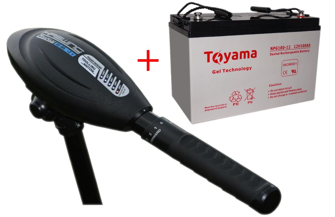 Akumulator Do Silnika Elektrycznego W Zestawie Z Silnikiem Do Ospian40ibs